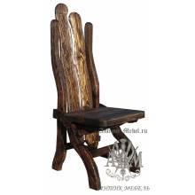 Деревянный стул под старину из массива сосны Йорк