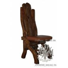 Деревянный стул под старину из массива сосны Йорк-2