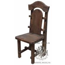 Деревянный стул под старину из массива сосны Солерно