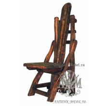 Деревянный стул под старину из массива сосны Сен-Дени