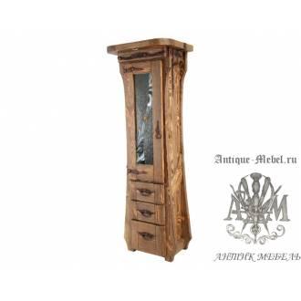 Шкаф из дерева массива сосны под старину Маркиза-2