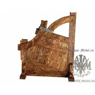 Перегородка из дерева массива сосны под старину Флагман