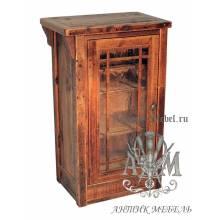 Тумба ТВ деревянная под старину из массива дуба №2