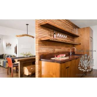 Кухня Одрина из массива натурального дерева