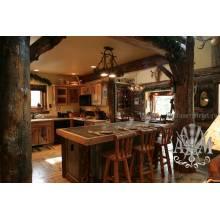 Кухня Опаница из массива натурального дерева