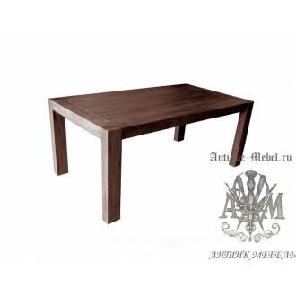Деревянный стол 190x100 обеденный из массива дуба Фабьен