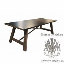Деревянный стол 200x90 обеденный из массива дуба Фернанд