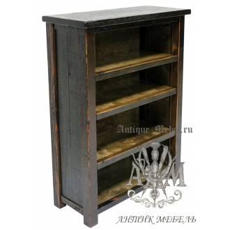 Шкаф деревянный под старину из массива дуба №1