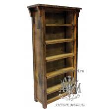 Шкаф деревянный под старину из массива дуба №2