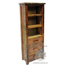 Шкаф деревянный под старину из массива дуба №3