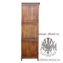 Шкаф деревянный для спальни из массива ясеня №3