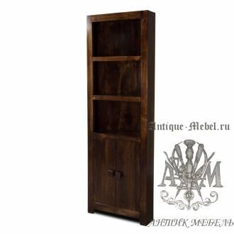 Шкаф деревянный угловой из массива ясеня №2