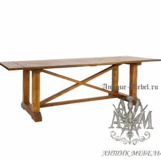 Стол обеденный 240x100 из массива ясеня №1