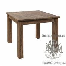 Стол обеденный 90x90 из массива ясеня №3