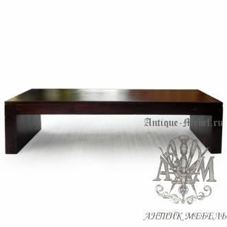 Журнальный столик из массива дерева ясеня №1