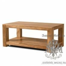 Журнальный столик из массива дерева ясеня №2