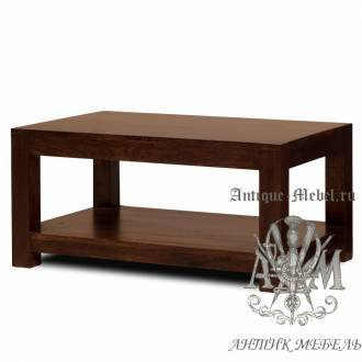 Журнальный столик из массива дерева ясеня №3