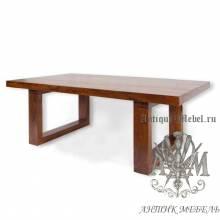 Журнальный столик из массива дерева ясеня №4