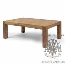 Журнальный столик из массива дерева ясеня №5