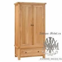 Шкаф для спальни из массива дерева натурального дуба №3