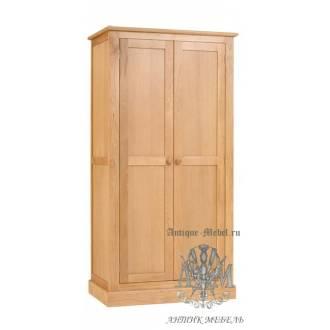 Шкаф для спальни из массива дерева натурального дуба №9