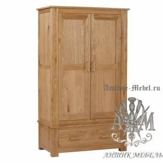 Шкаф для спальни из массива дерева натурального дуба №12