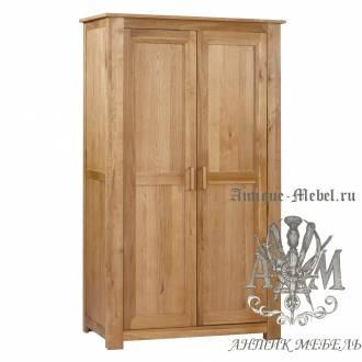 Шкаф для спальни из массива дерева натурального дуба №13