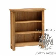 Шкаф книжный из массива дерева натурального дуба №1