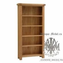 Шкаф книжный из массива дерева натурального дуба №2