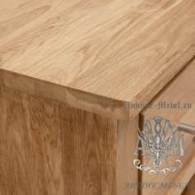 Шкаф книжный из массива дерева натурального дуба №3