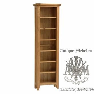 Шкаф книжный из массива дерева натурального дуба №4