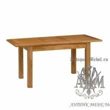 Столовый набор мебели из массива дерева натурального дуба №1