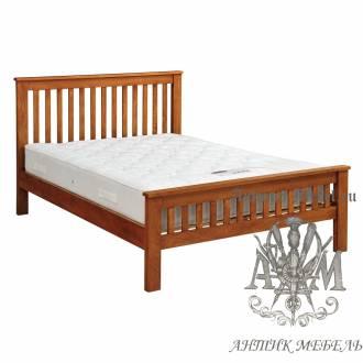 Кровать для спальни из массива дерева натурального дуба №2