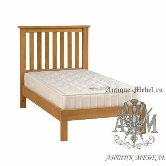 Кровать для спальни из массива дерева натурального дуба №9