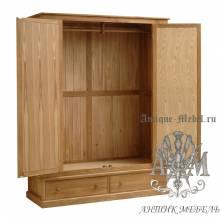 Набор мебели для спальни из массива дерева натурального дуба №2