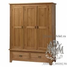 Набор мебели для спальни из массива дерева натурального дуба №6