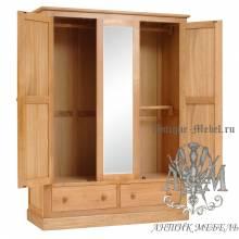 Набор мебели для спальни из массива дерева натурального дуба №10