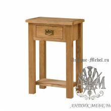 Консольный стол из массива дерева натурального дуба №2