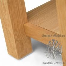 Консольный стол из массива дерева натурального дуба №3