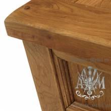 Консольный стол из массива дерева натурального дуба №4