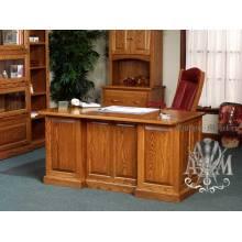 Стол для кабинета Арман из массива натурального дерева