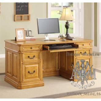 Стол для кабинета Годард из массива натурального дерева
