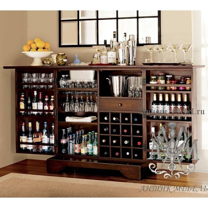 Шкаф для алкоголя на кухне фото
