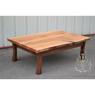 Столик кофейный Эко из слэба дерева