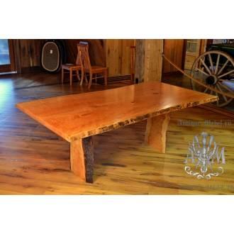 Деревянный стол Эко из спила ясеня