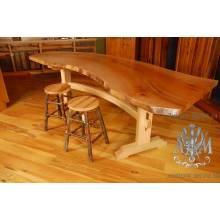 Стол Лофт обеденный из массива дерева