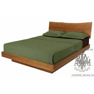 Кровать Эко из массива дерева №1