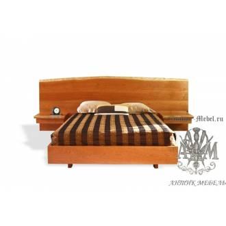 Кровать Эко из массива дерева №2