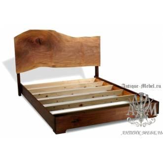 Кровать Эко из массива дерева №3