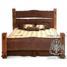 Кровать Eco из массива дерева №4